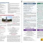 Double page de bulletin municipal, mise en page et charte graphique
